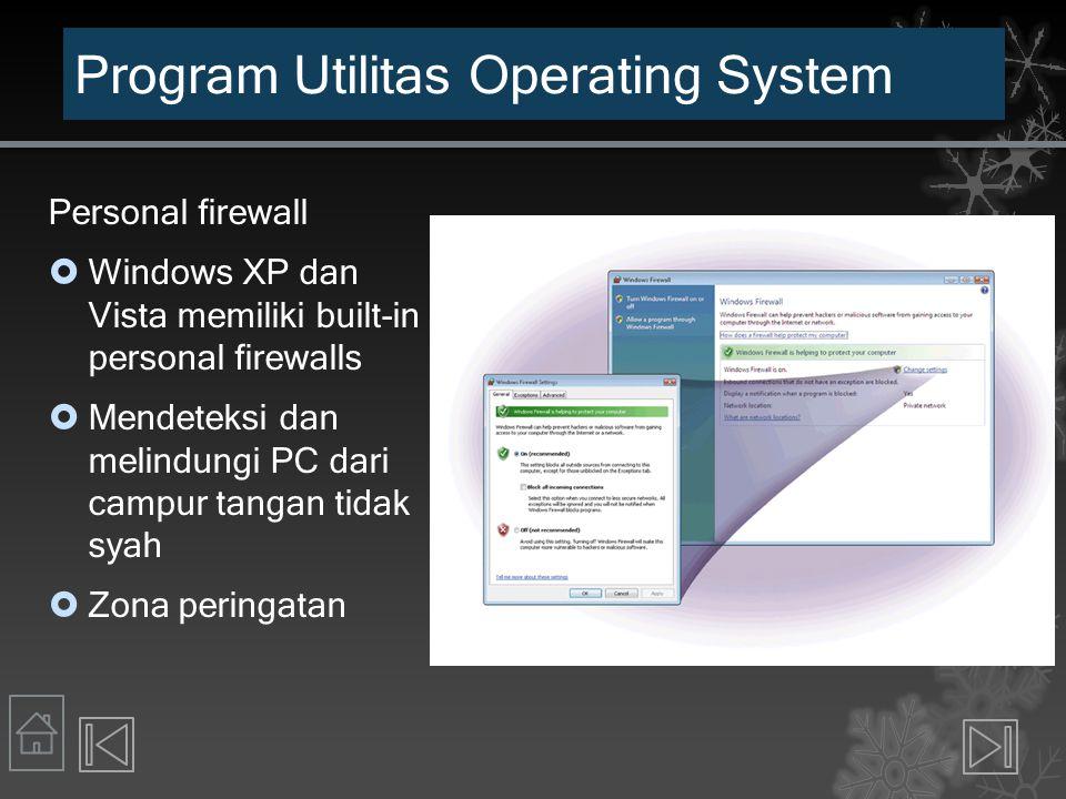 Program Utilitas Operating System