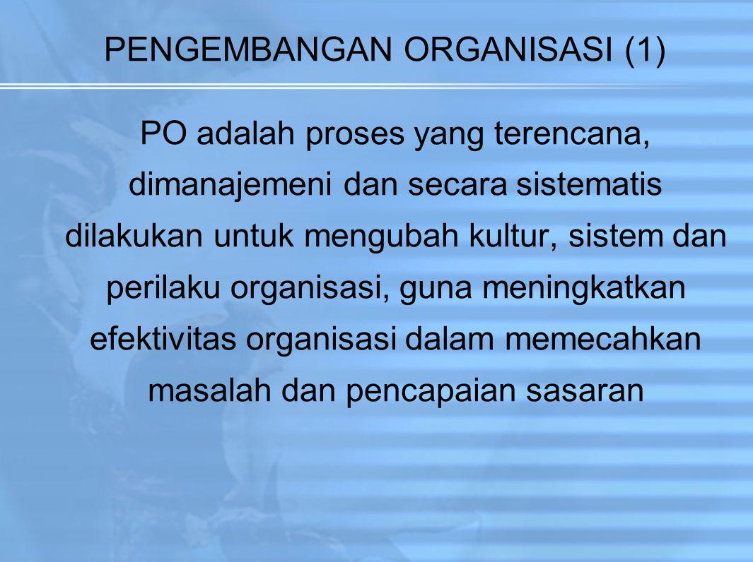 PENGEMBANGAN ORGANISASI (1)