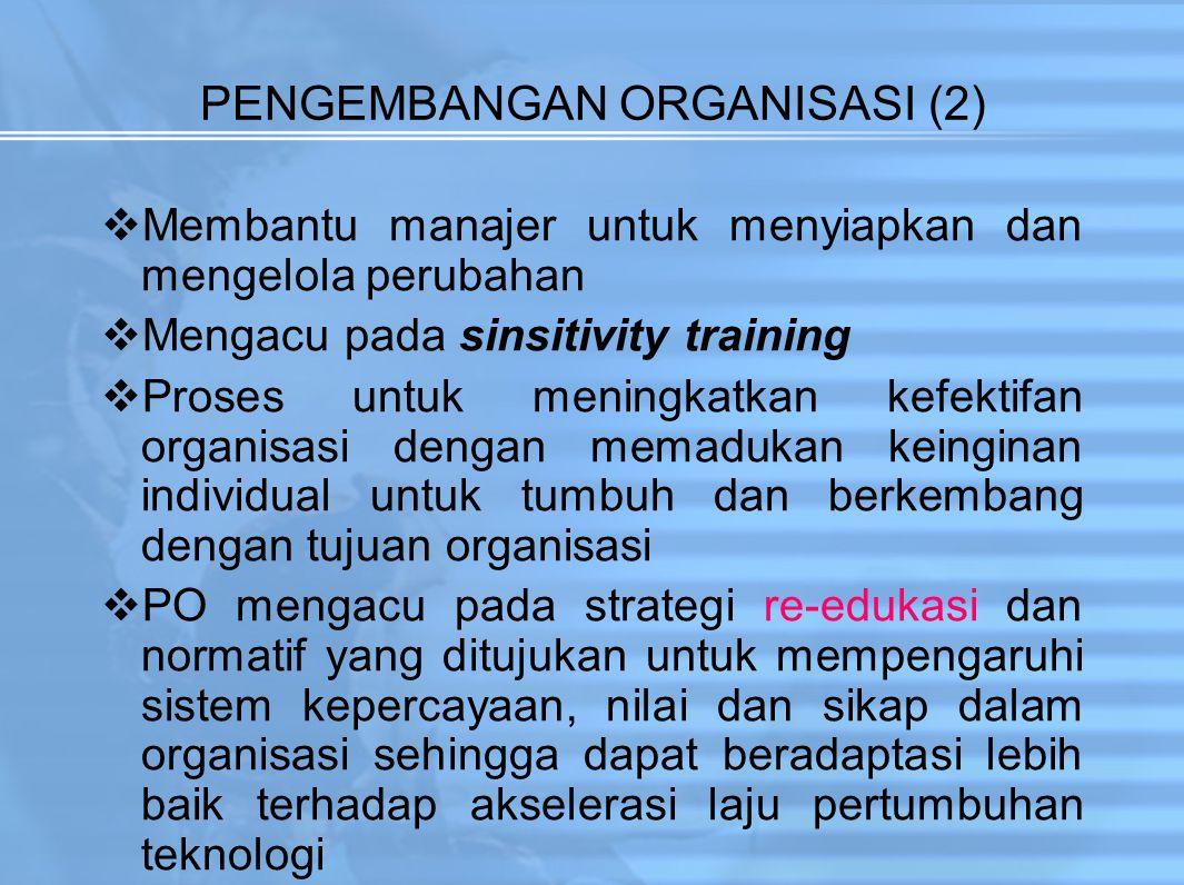 PENGEMBANGAN ORGANISASI (2)