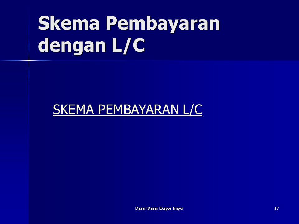 Skema Pembayaran dengan L/C
