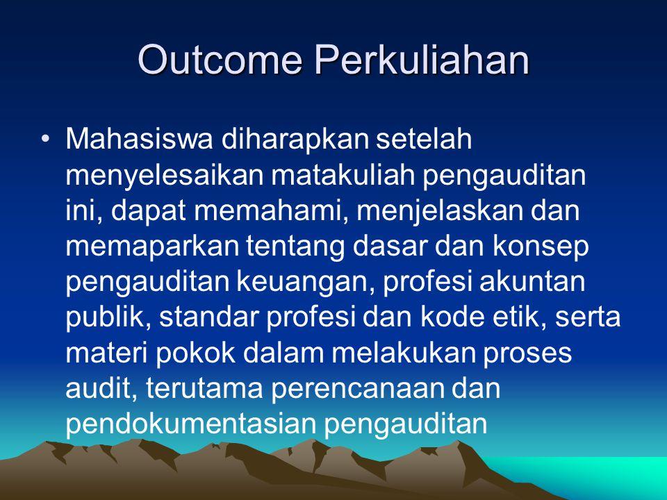 Outcome Perkuliahan