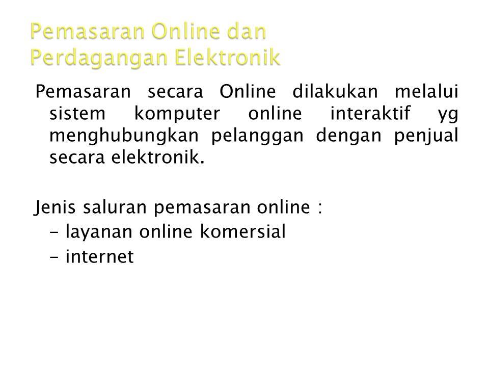 Pemasaran Online dan Perdagangan Elektronik