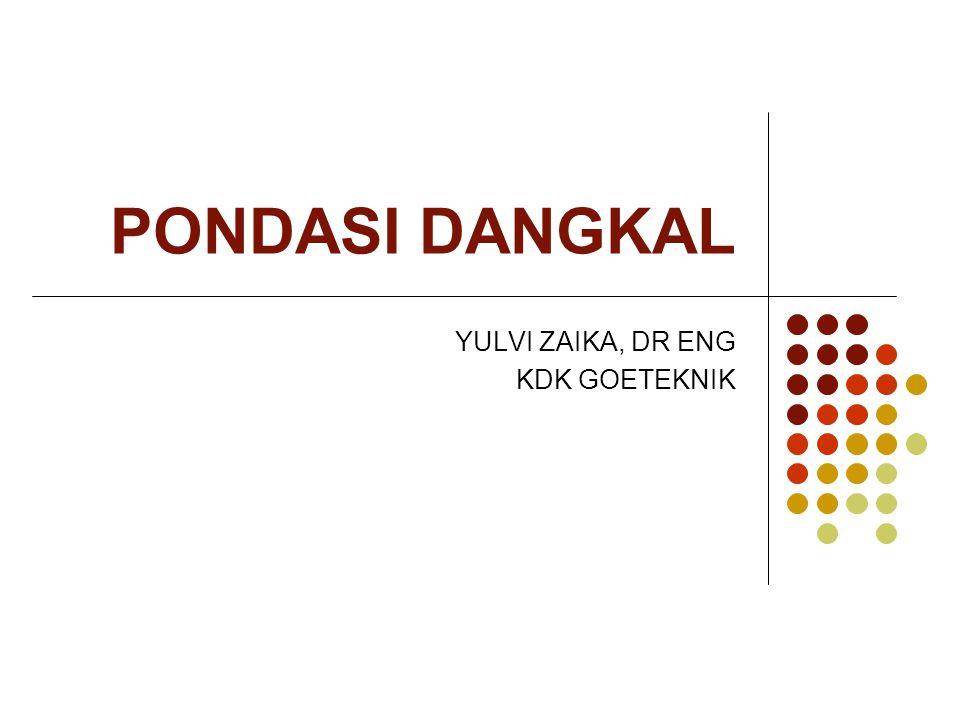 YULVI ZAIKA, DR ENG KDK GOETEKNIK