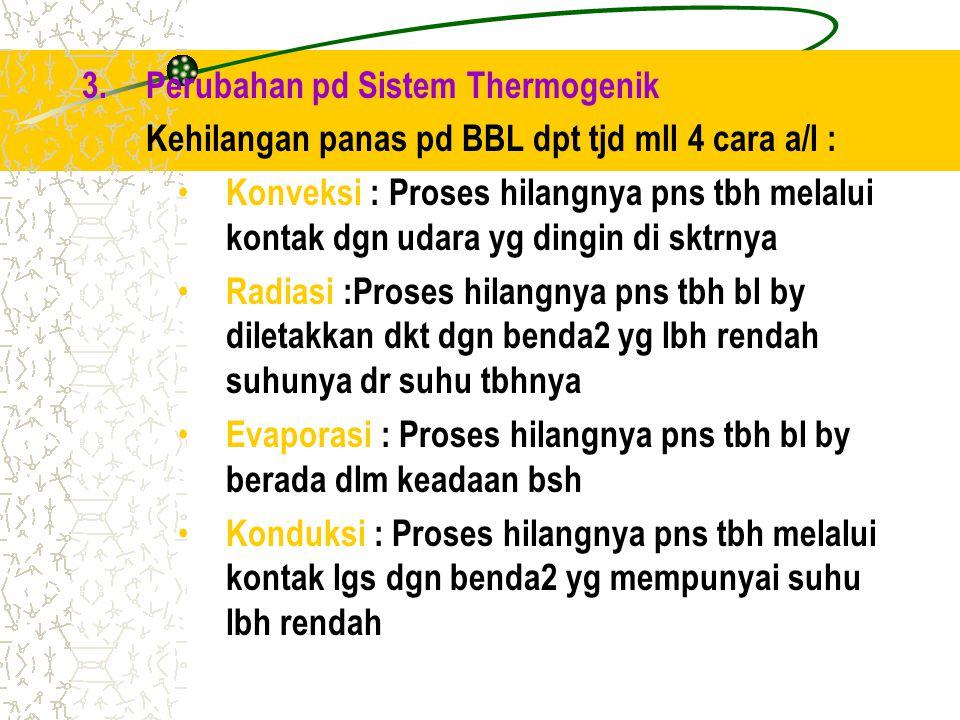 Perubahan pd Sistem Thermogenik
