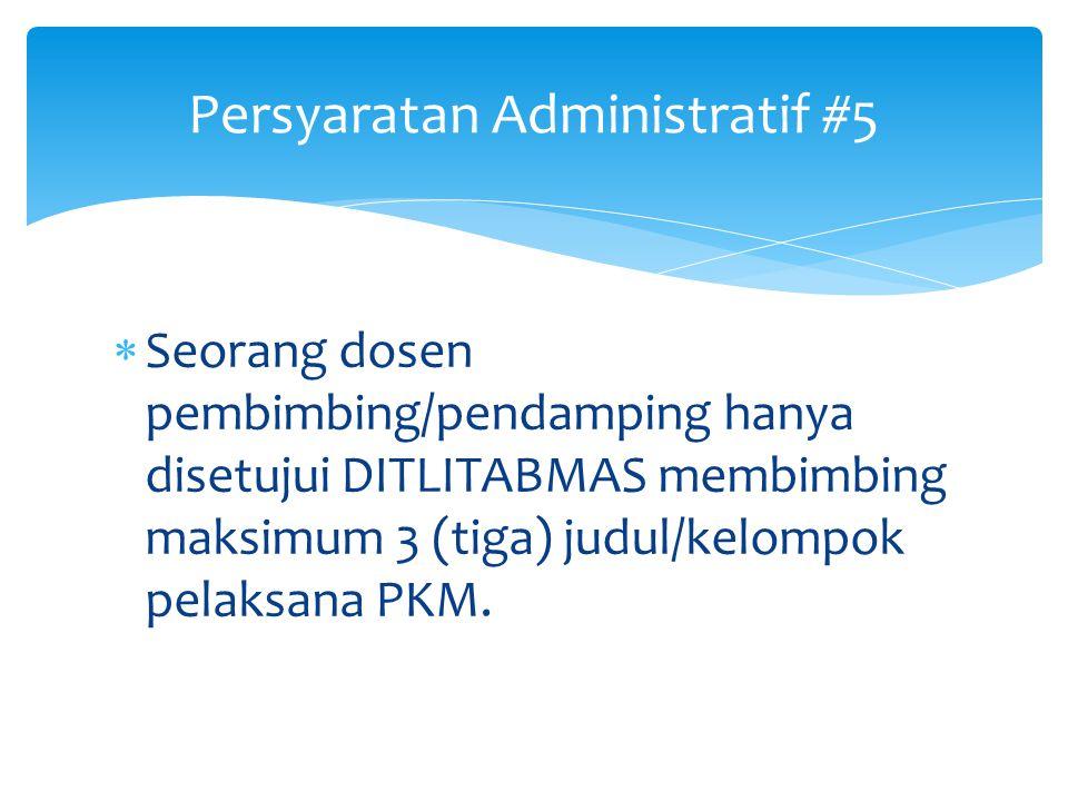 Persyaratan Administratif #5