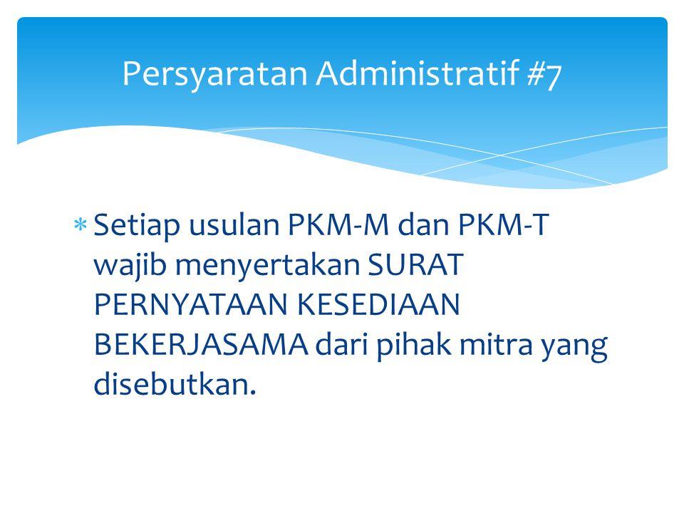 Persyaratan Administratif #7