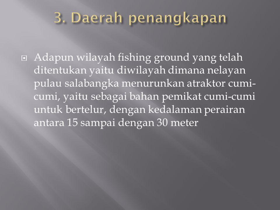 3. Daerah penangkapan