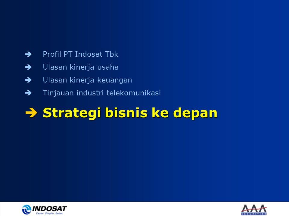 Strategi bisnis ke depan