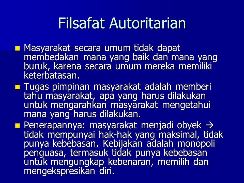 Filsafat Autoritarian