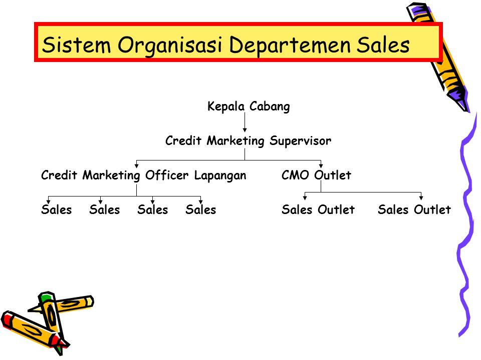 Sistem Organisasi Departemen Sales