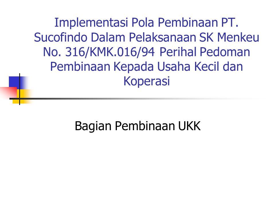 Implementasi Pola Pembinaan PT