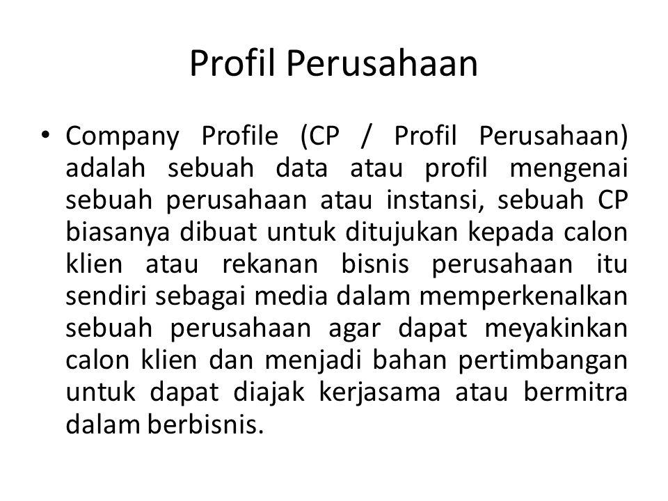Profil Perusahaan