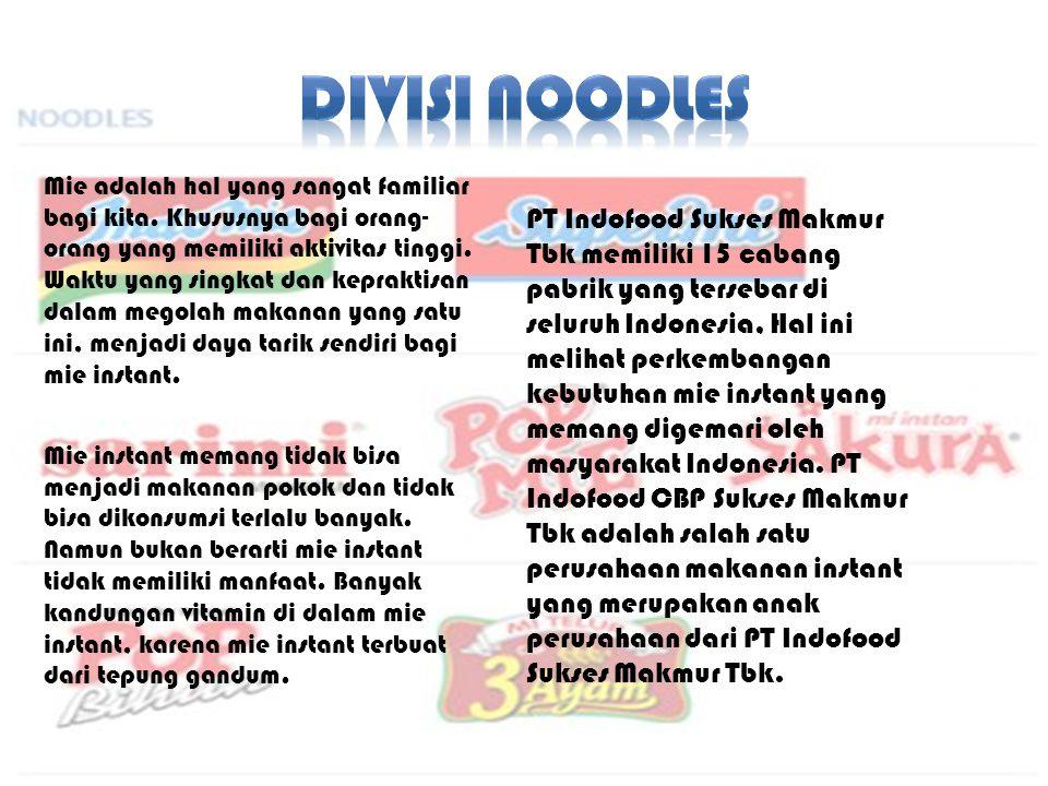 DIVISI NOODLES
