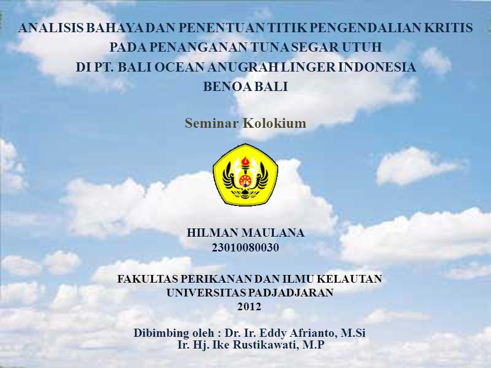 HILMAN MAULANA 23010080030 Seminar Kolokium