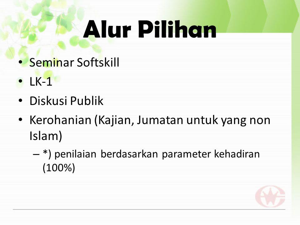 Alur Pilihan Seminar Softskill LK-1 Diskusi Publik