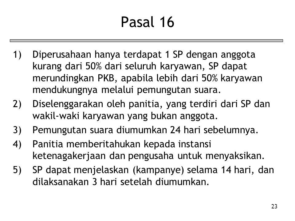 Pasal 16