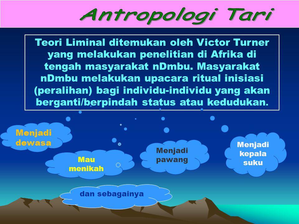 Antropologi Tari