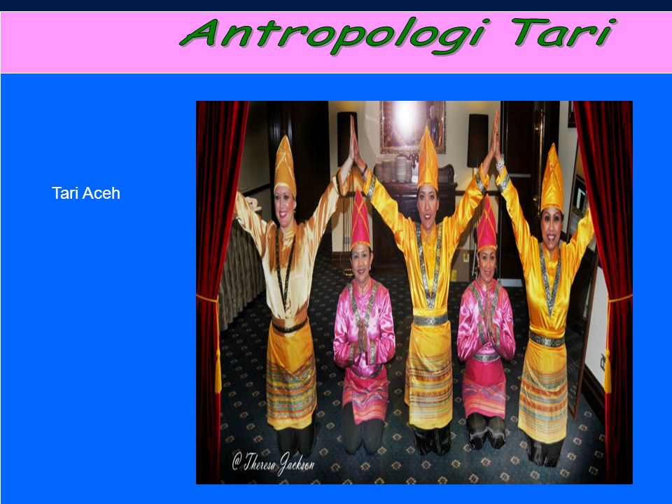 Antropologi Tari Tari Aceh