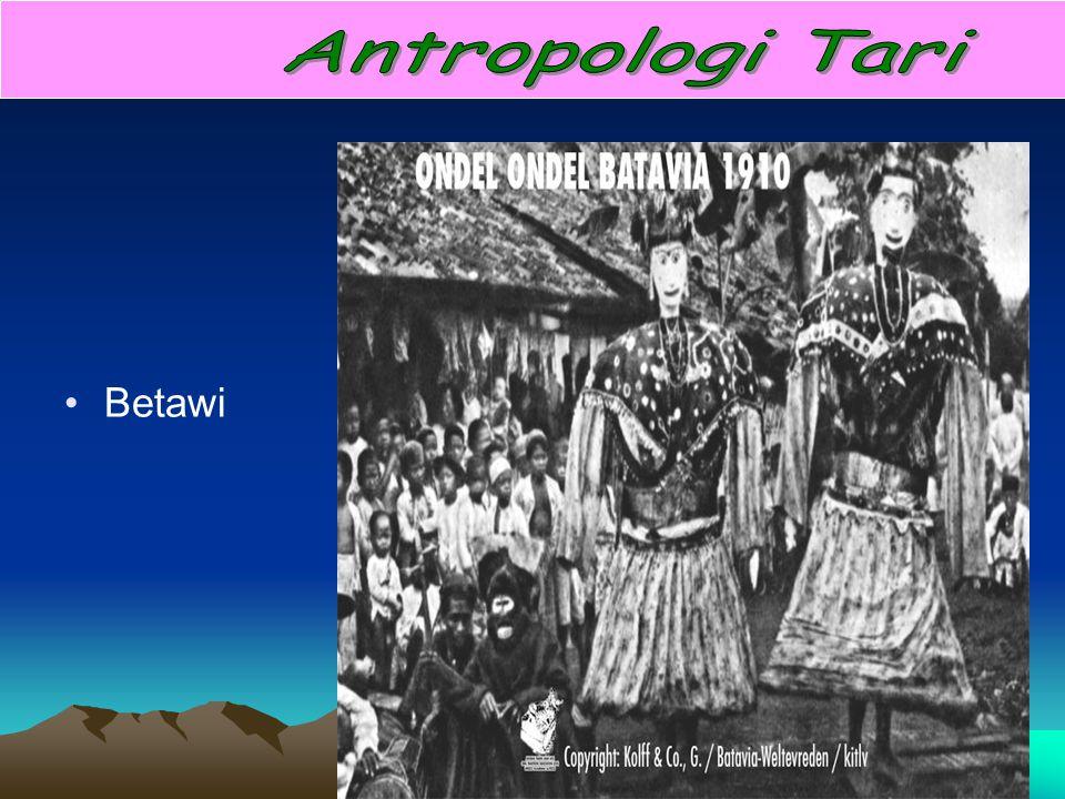 Antropologi Tari Betawi