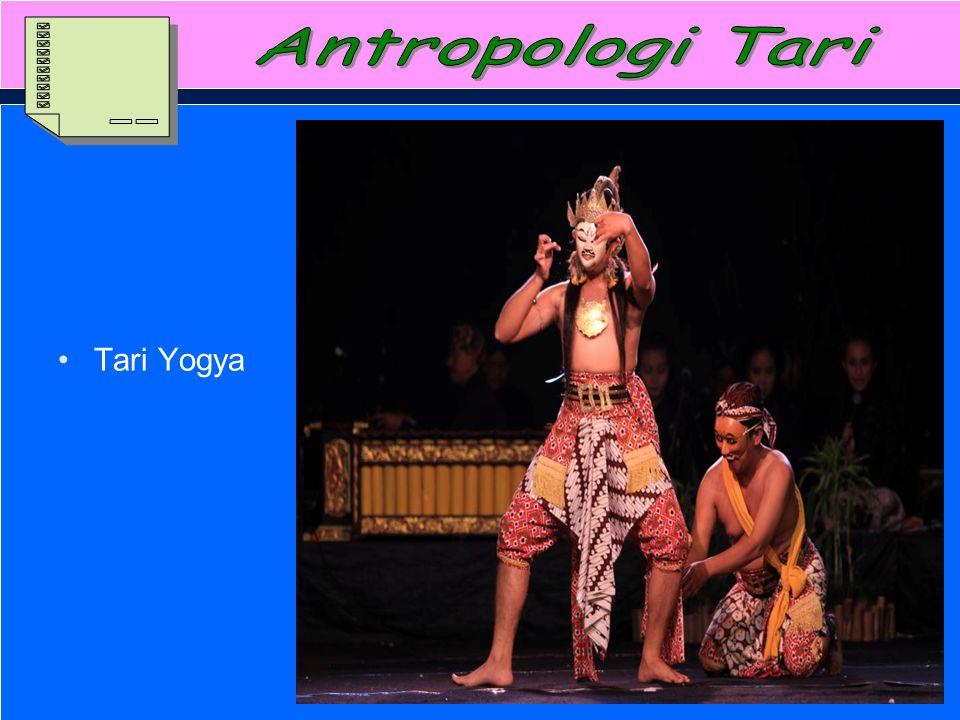 Antropologi Tari Tari Yogya