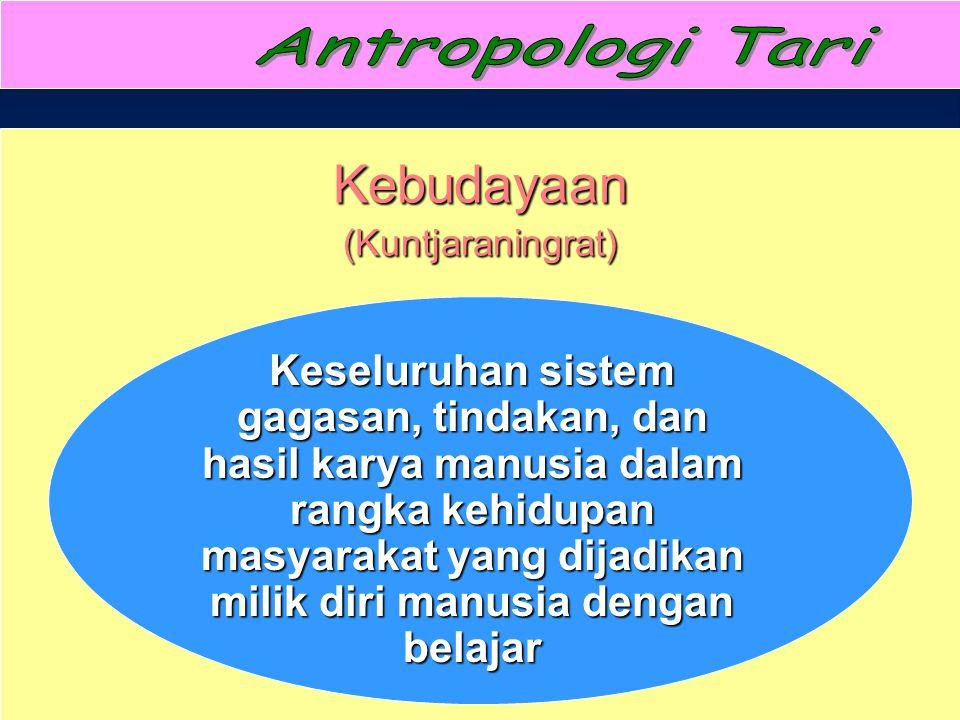 Kebudayaan (Kuntjaraningrat)