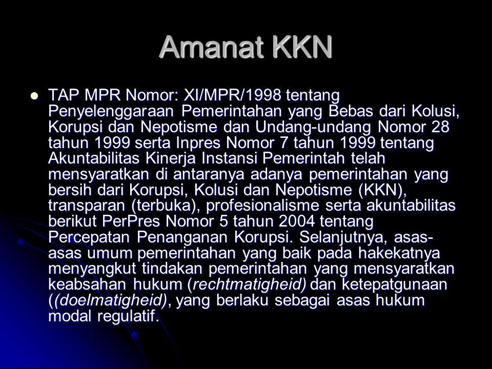 Amanat KKN