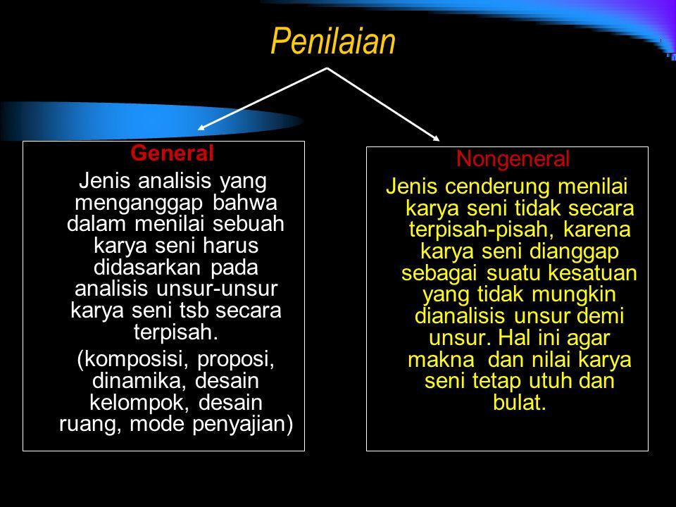 Penilaian General Nongeneral
