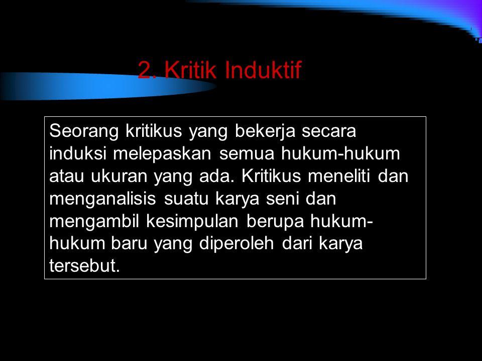 2. Kritik Induktif