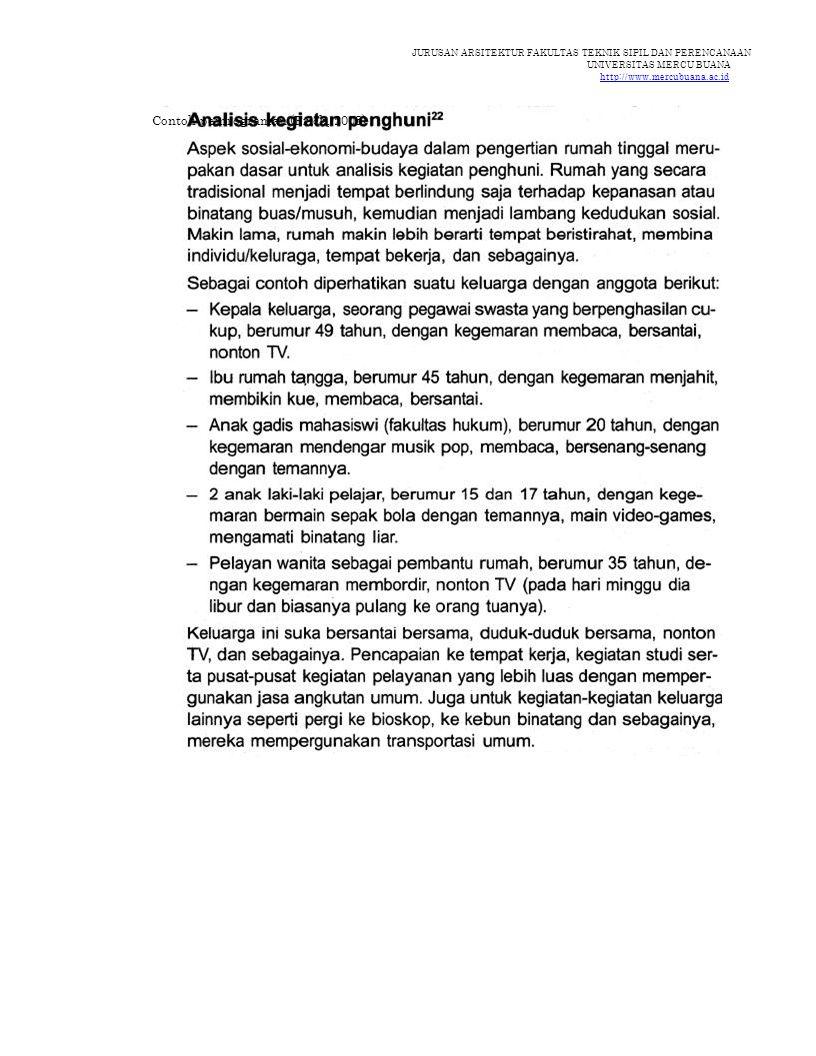 Contoh pemrograman (Frick, 2003)