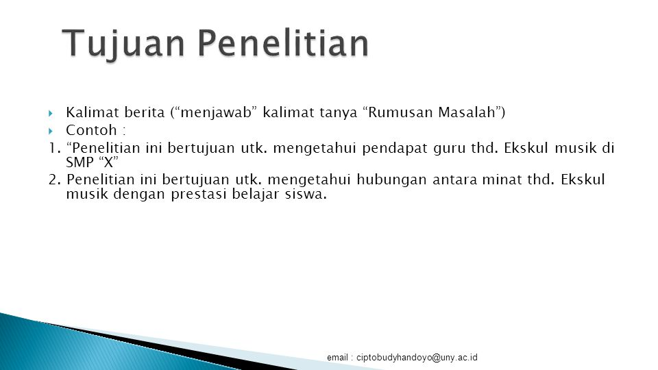 Membuat Proposal Skripsi Ppt Download