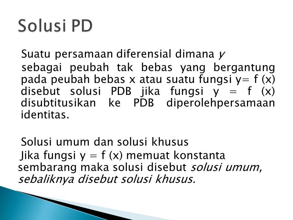 Solusi PD