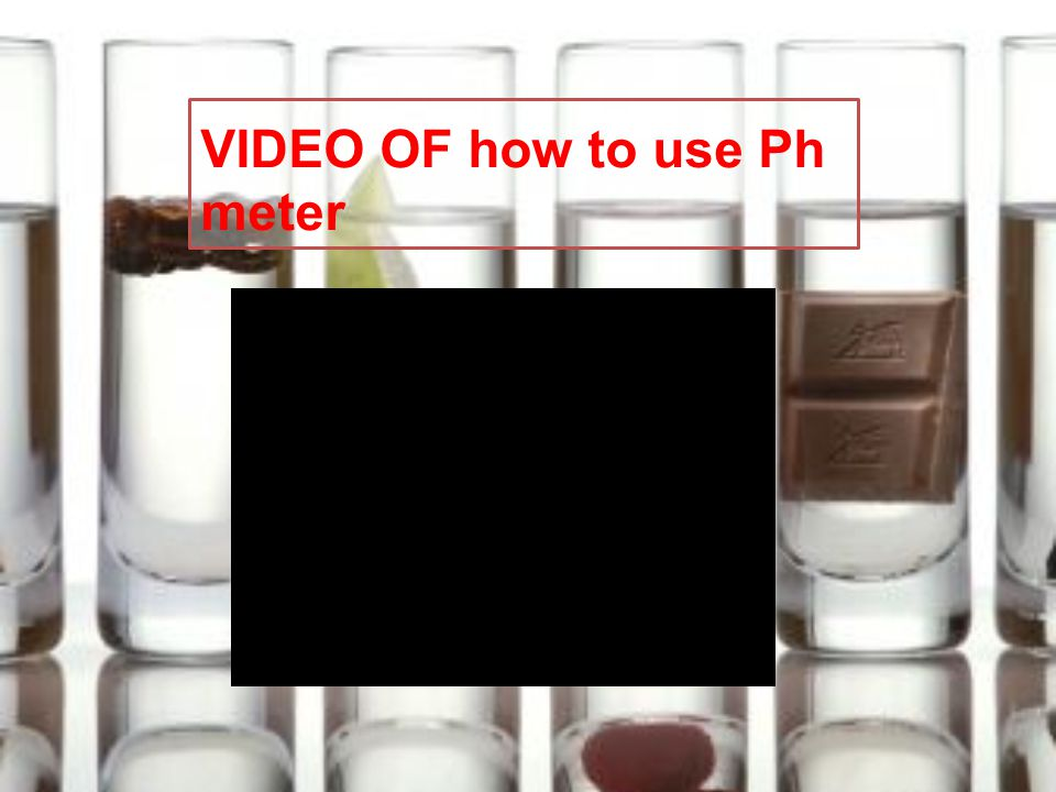 VIDEO OF how to use Ph meter