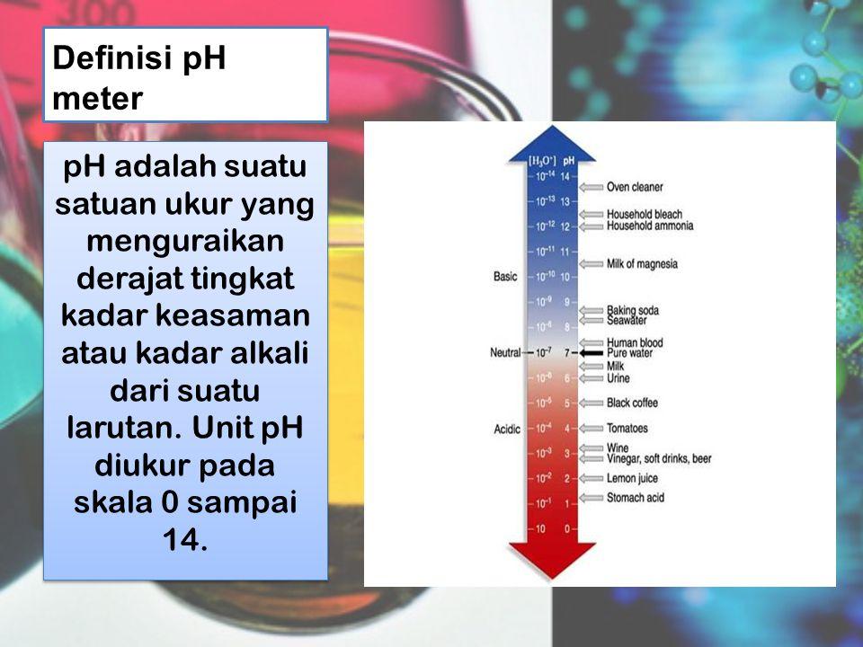 Definisi pH meter