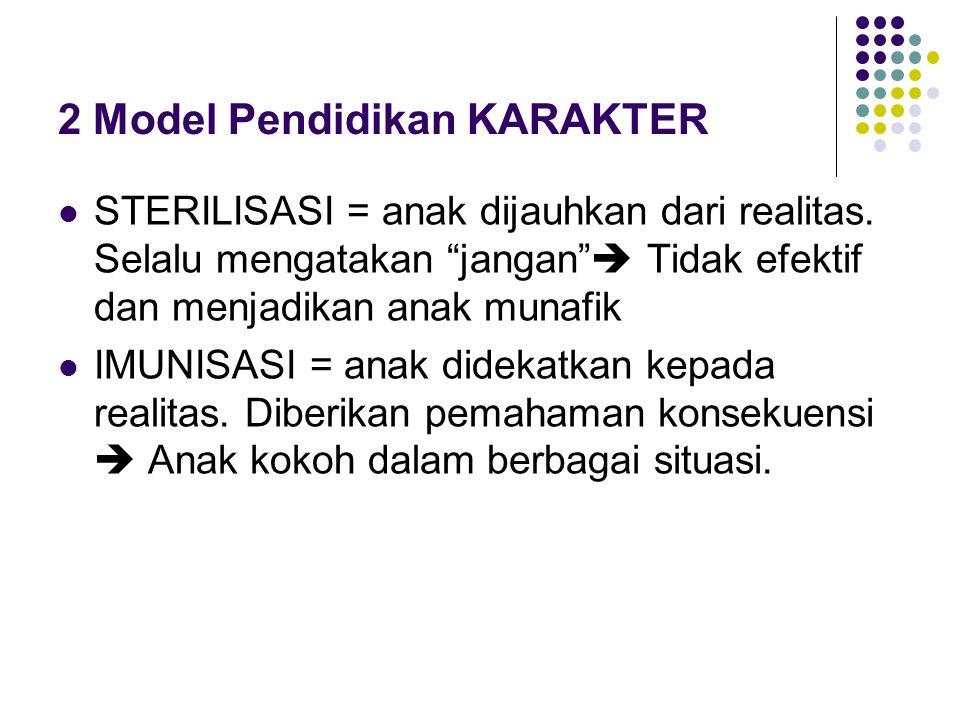 2 Model Pendidikan KARAKTER