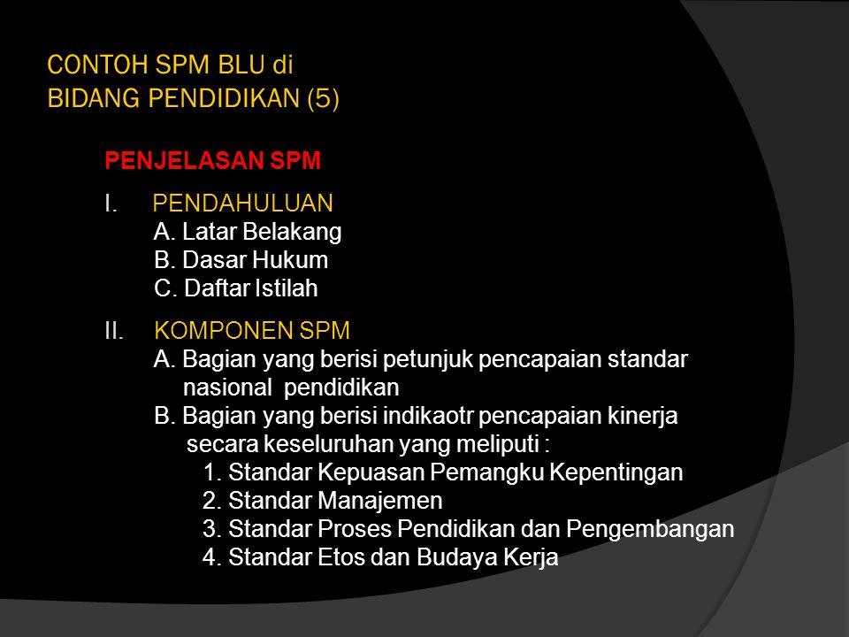 CONTOH SPM BLU di BIDANG PENDIDIKAN (5)