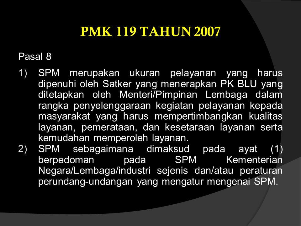 PMK 119 TAHUN 2007 Pasal 8.