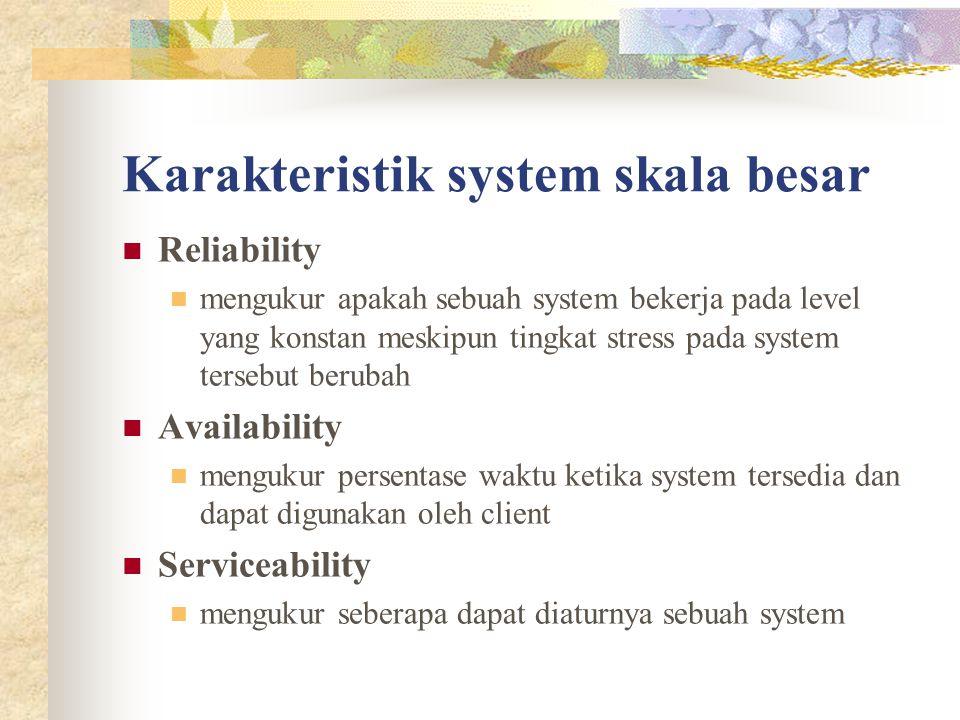 Karakteristik system skala besar