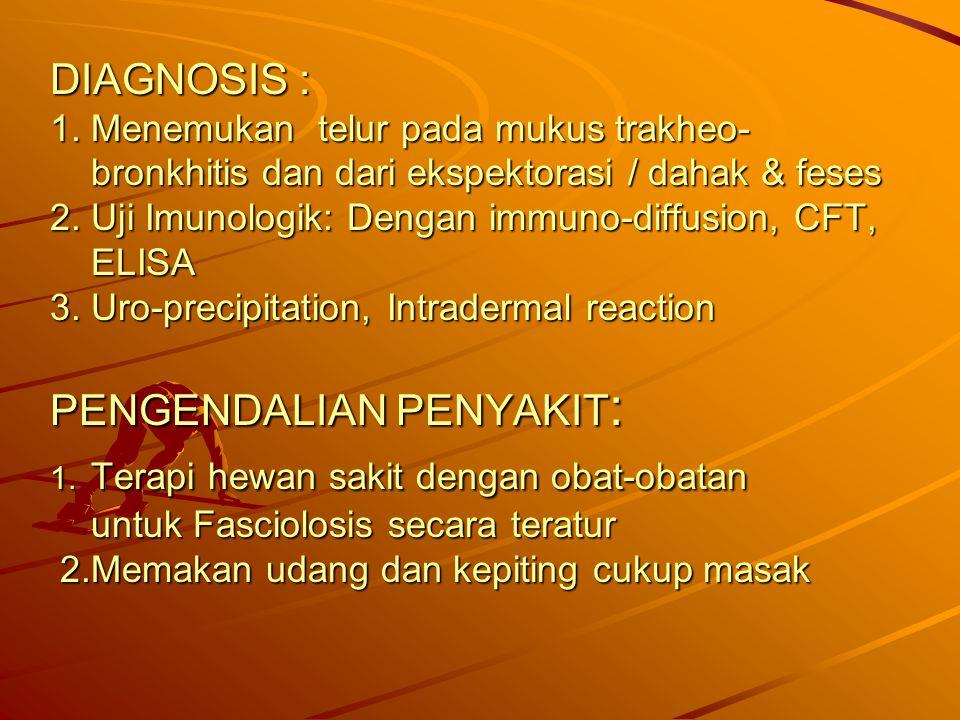 DIAGNOSIS : 1.
