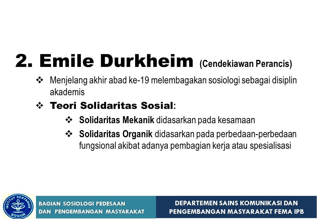 Emile Durkheim (Cendekiawan Perancis)