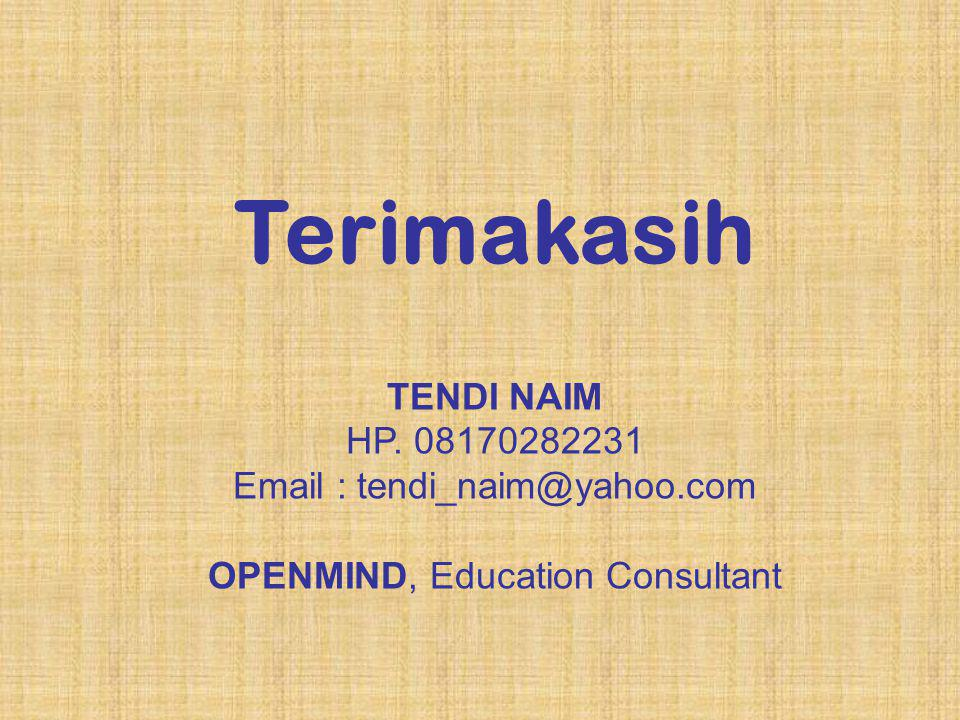 OPENMIND, Education Consultant