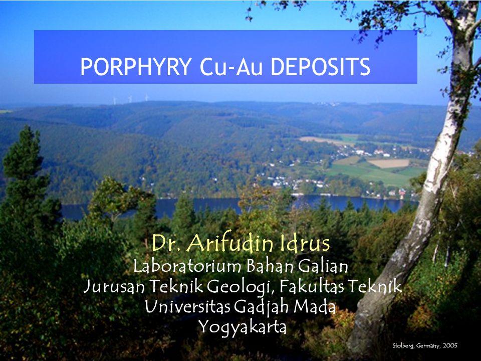 Dr. Arifudin Idrus Laboratorium Bahan Galian