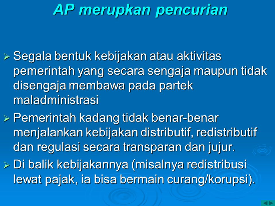 AP merupkan pencurian