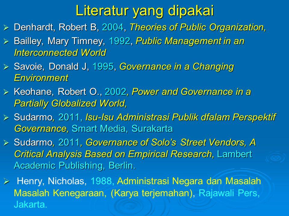 Literatur yang dipakai