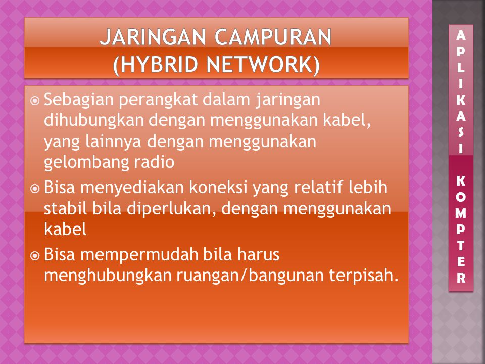 Jaringan Campuran (Hybrid Network)