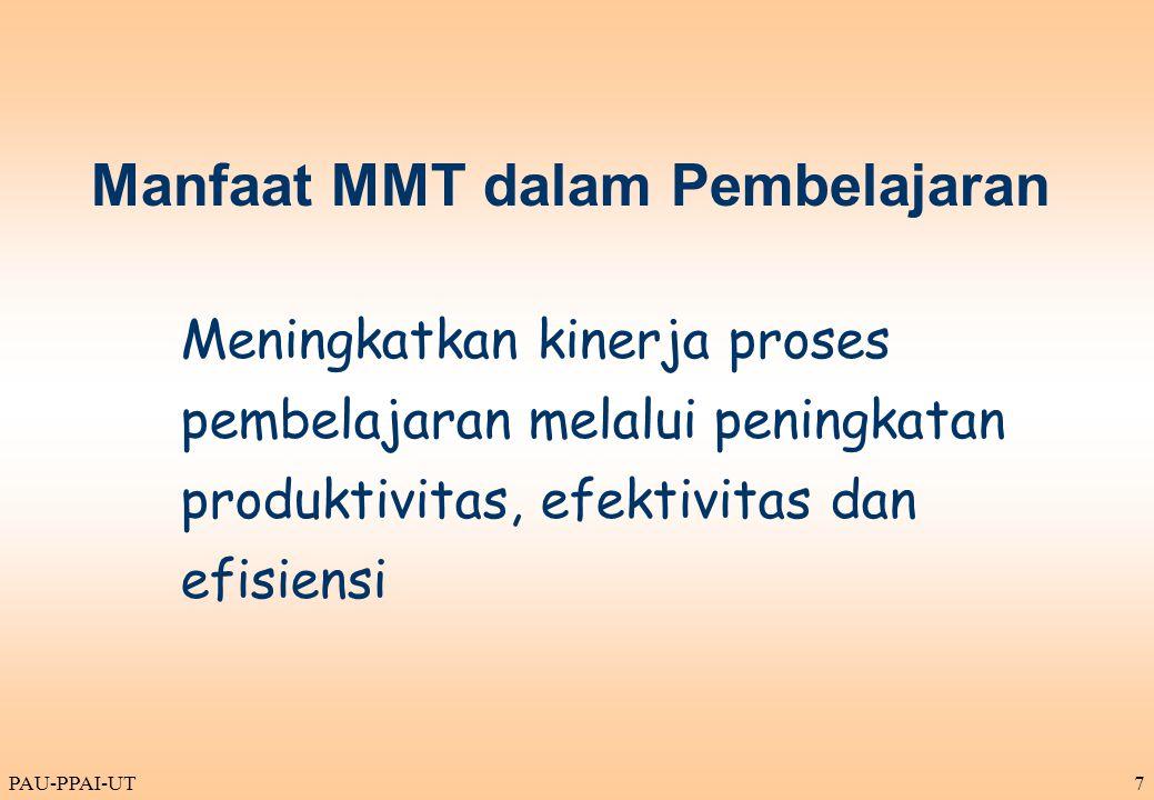 Manfaat MMT dalam Pembelajaran