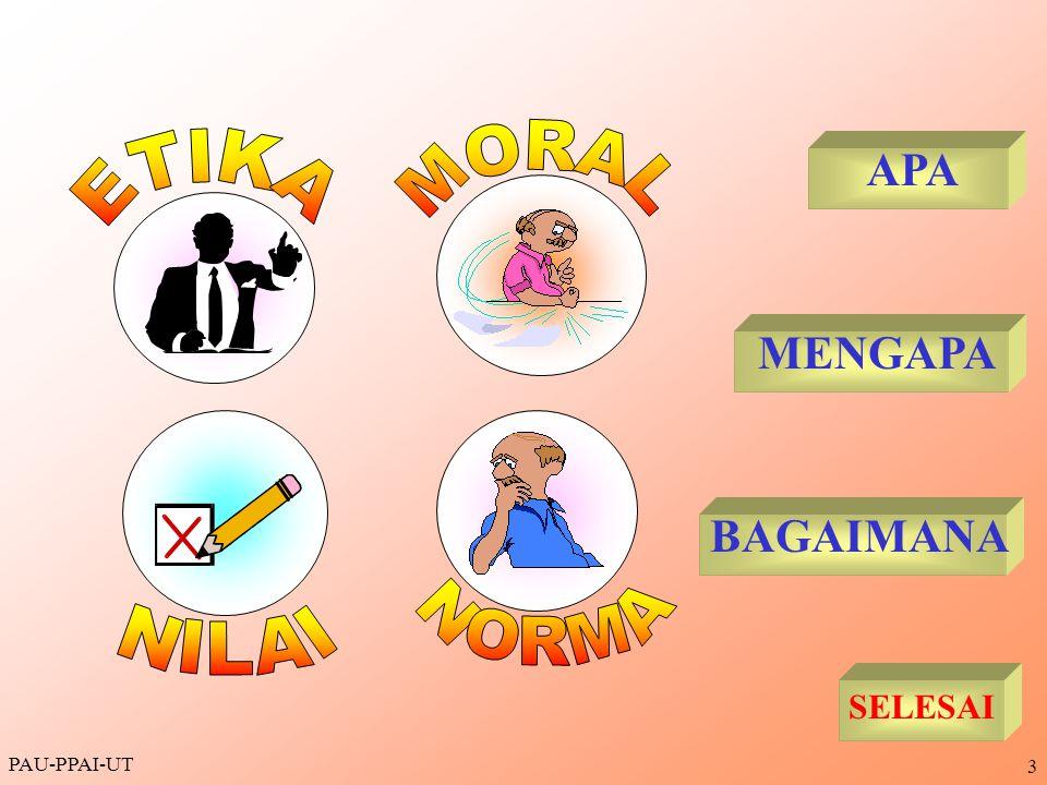MORAL ETIKA NILAI NORMA