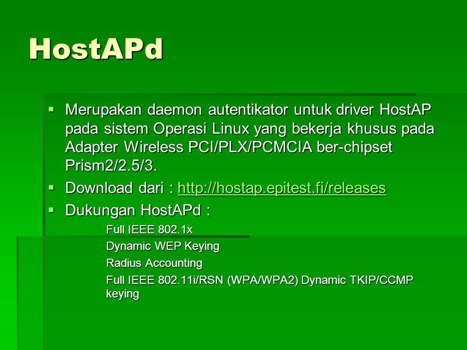HostAPd