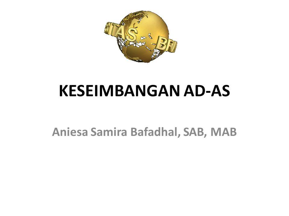 Aniesa Samira Bafadhal, SAB, MAB