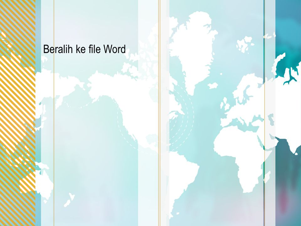 Beralih ke file Word