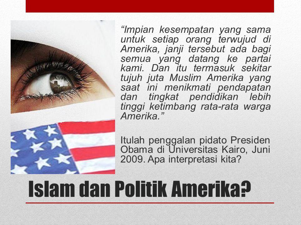 Islam dan Politik Amerika